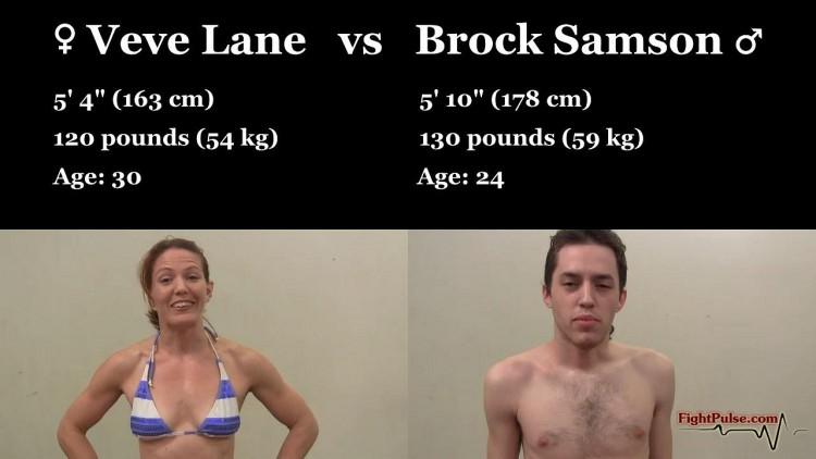 Veve Lane competitive mixed wrestling