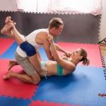 Viktoria's bodyscissor guard position