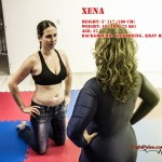 Xena mixed wrestling