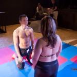 Lucrecia and Martin face-off