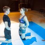 Viktoria M vs Ryan staredown