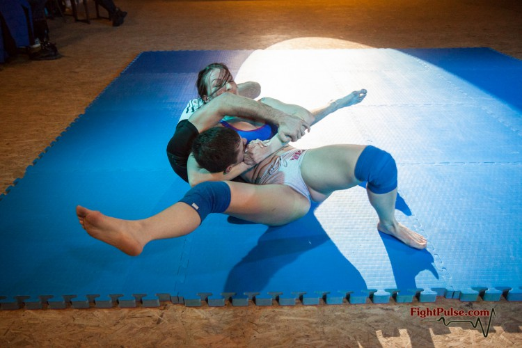 competitive mixed wrestling