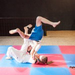 another tomoe-nage by Diana - mixed judo