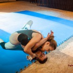 foot on face wrestling