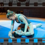 Viktoria M - mixed wrestling