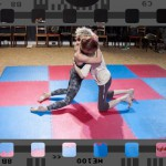 competitive amateur mixed wrestling