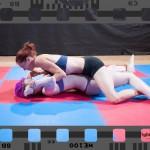 grapevine pin in female wrestling