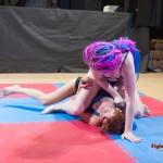 Revana on top of her opponent