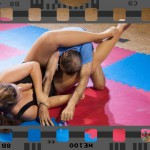 Competitive mixed wrestling video by Fight Pulse featuring Lucrecia and Ziko