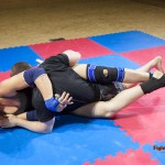 bodyscissors in mixed wrestling