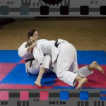 competitive female wrestling in judo gis - sgpin rules only