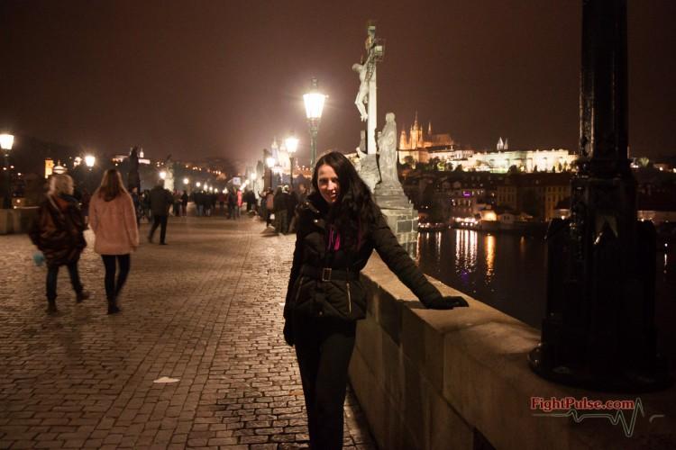 Karina in Prague