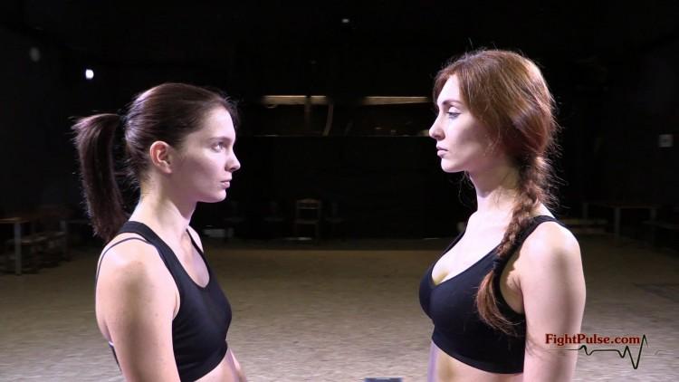 Katniss vs Akela - the staredown