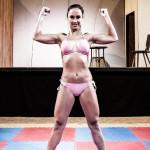 Zoe - female wrestler