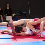 Diana vs Steve - mixed wrestling - photos