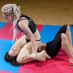 Revana pins down her opponent
