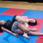 leg wrestling challenge