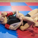 rear naked choke - bodyscissors combo by Jenni Czech