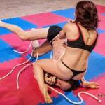 MX-56: VeVe Lane vs Marek – extreme bondage wrestling – the rematch