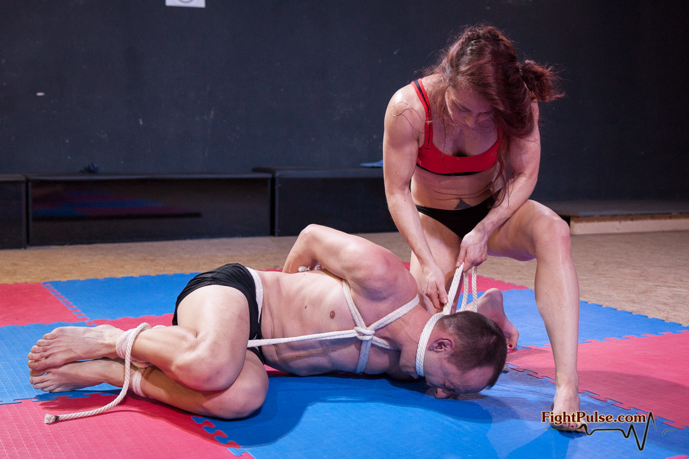 hardcore bondage match 50 plus