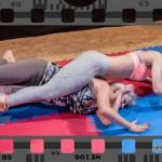 Competitive female wrestling - full video (Akela vs Kristi)
