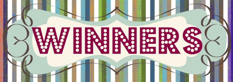 Coupon contest winners