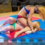 FW-51 Revana vs Chrissy Fox - competitive female wrestling - full match video