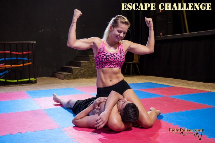 Jenni Czech - triangle pin bicep flex victory pose