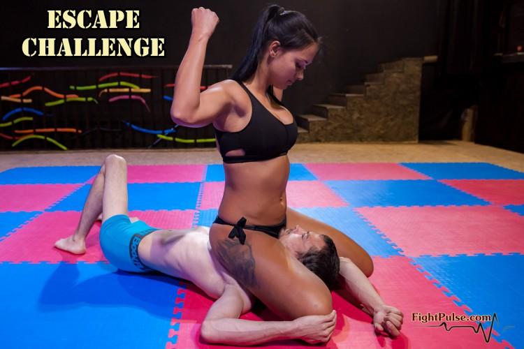 escape challenge - sgpin victory pose