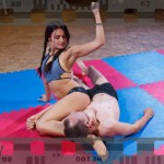 Jane immobilizes Marek with a foot choke - full video of NC-55