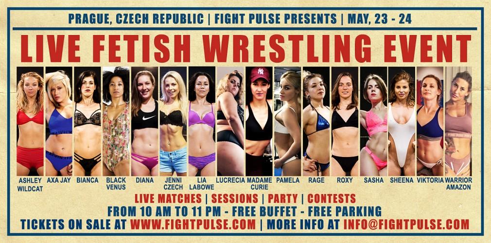 live wrestling event