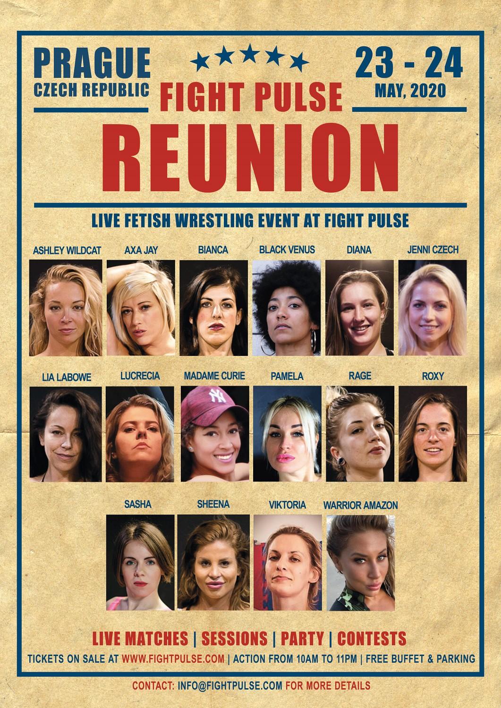 FightPulse Reunion Poster