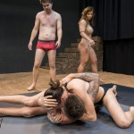 MX-208: Tag Team Match IV – Sheena & Roxy vs Andreas & Peter